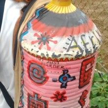 Bottle Backpack by Austine Manzi.rotated