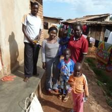 L-R: Owili John, Sophie Alal, Jackline Akello