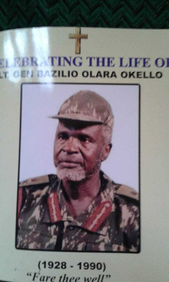 Lt. Gen Bazilio Olara Okello. Image courtesy of Jimmy Odoki Acellam