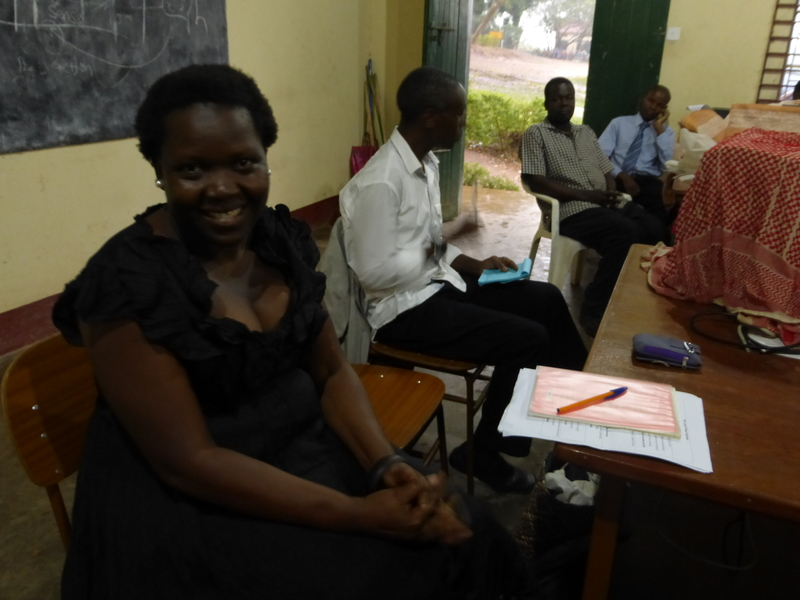 Bearice Lamwaka and Bob Kisiki