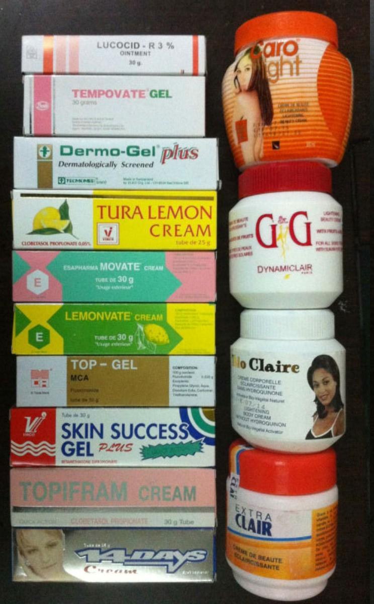 Skin Bleaching Creams2