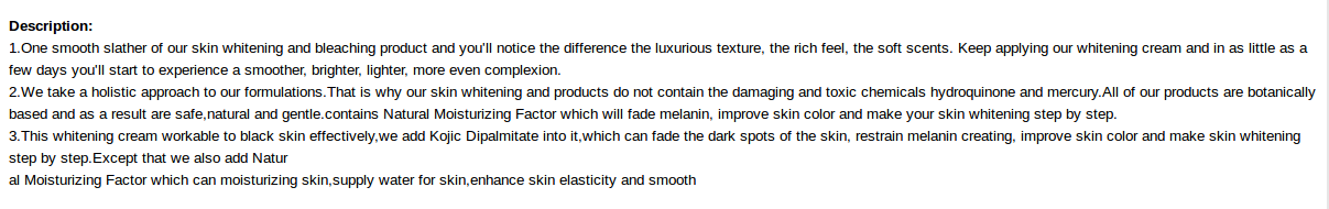 Advert. © Nantong Tianlan Cosmetics Co., Ltd.